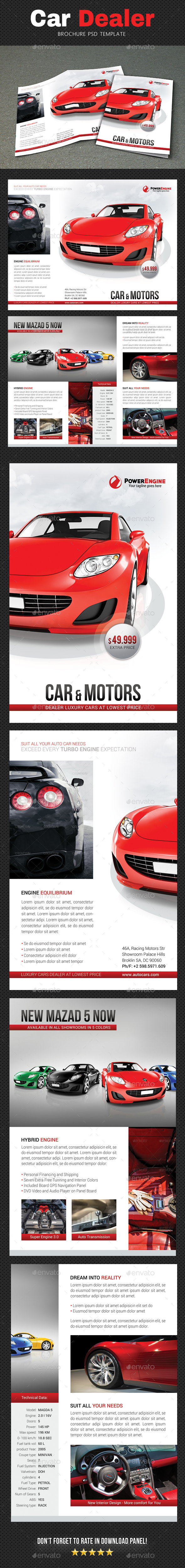 GraphicRiver Automotive Brochure 2 20842909