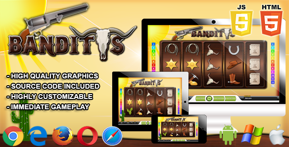 Banditos - HTML5 Casino Game - CodeCanyon Item for Sale