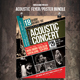 Acoustic Flyer / Poster Bundle