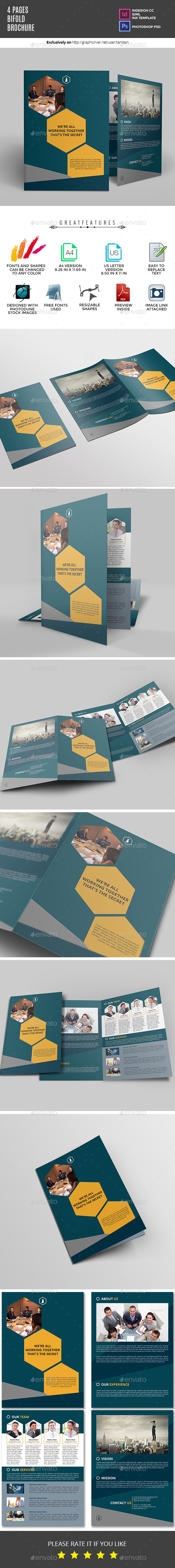 GraphicRiver Bifold Brochure 20843380