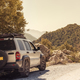 Road trip in off road car off beaten track. - PhotoDune Item for Sale