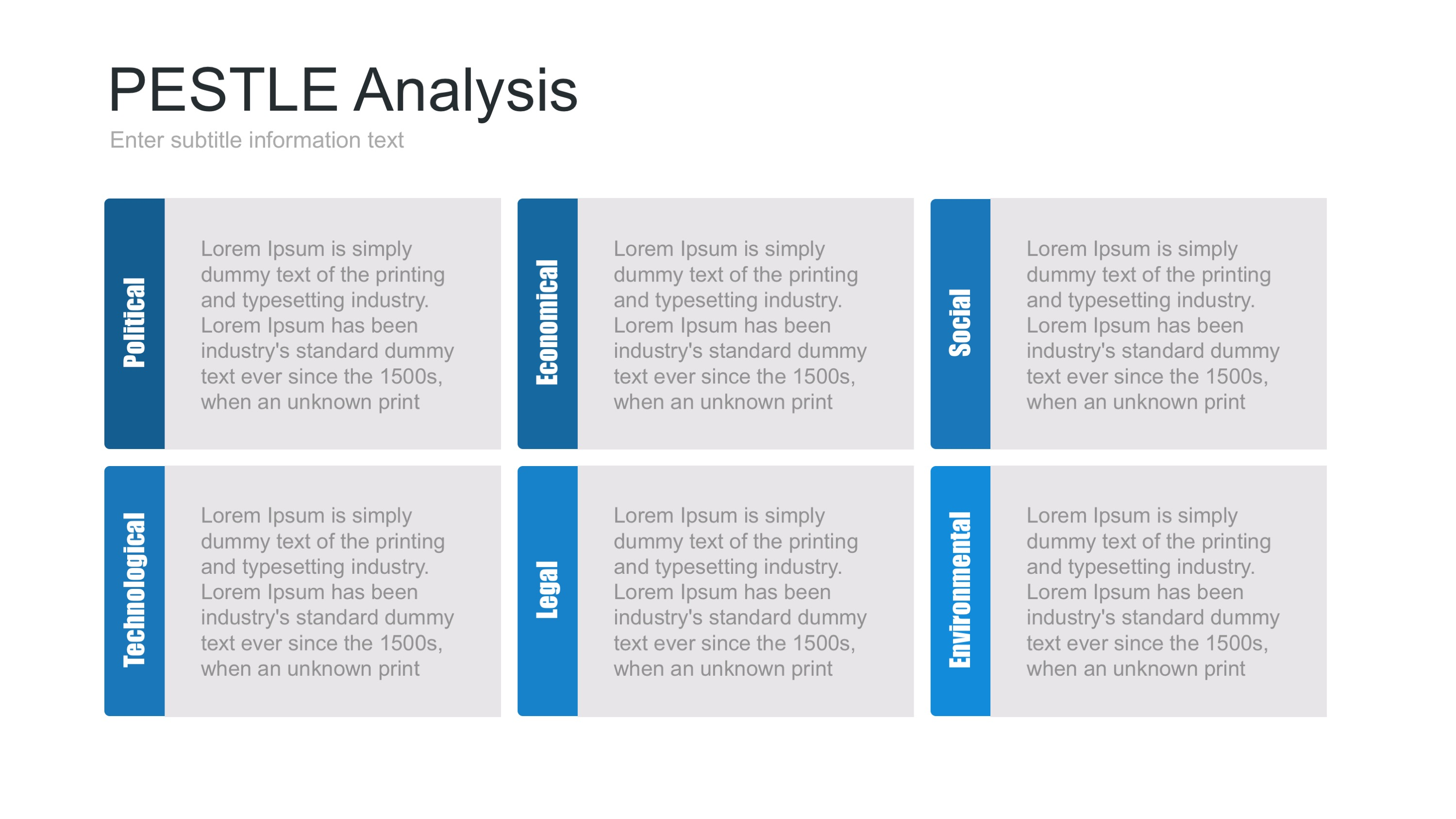 pest analysis template Swot analysis template swot analysis template incorporated the swot analysis as an situation analytical tool used in conjunction with strategic planning.