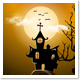 Halloween Background – Haunted House
