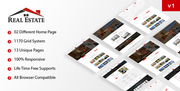 ThemeForest Realstate HTML5 Responsive Template 20730019