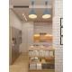 3d Illustration Kitchen Interior Design in White
