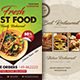 Food Menu Flyers Bundle Templates