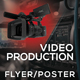 Video Production And Services 3 Flyer/Poster - GraphicRiver Item for Sale