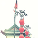 Chinese red lanterns in Xian, China. - PhotoDune Item for Sale