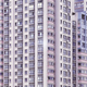Vintage stylized picture of apartment buildings. - PhotoDune Item for Sale