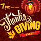 Template For Thanksgiving Party Flyer - GraphicRiver Item for Sale