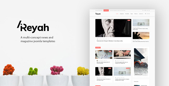 ThemeForest Areyah Multi-Concept News & Magazine Joomla Templates 20844518
