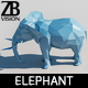 Lowpoly Elephant 001 - 3DOcean Item for Sale