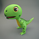 Cartoon Dinosaur - 3DOcean Item for Sale