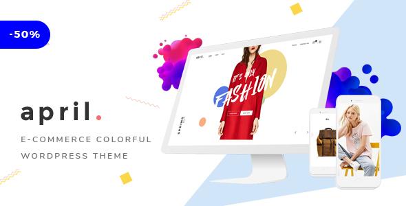 Image of APRIL - Wonderful Fashion WooCommerce WordPress Theme