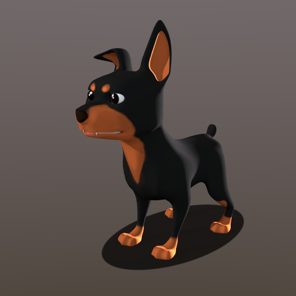doberman - 3DOcean Item for Sale