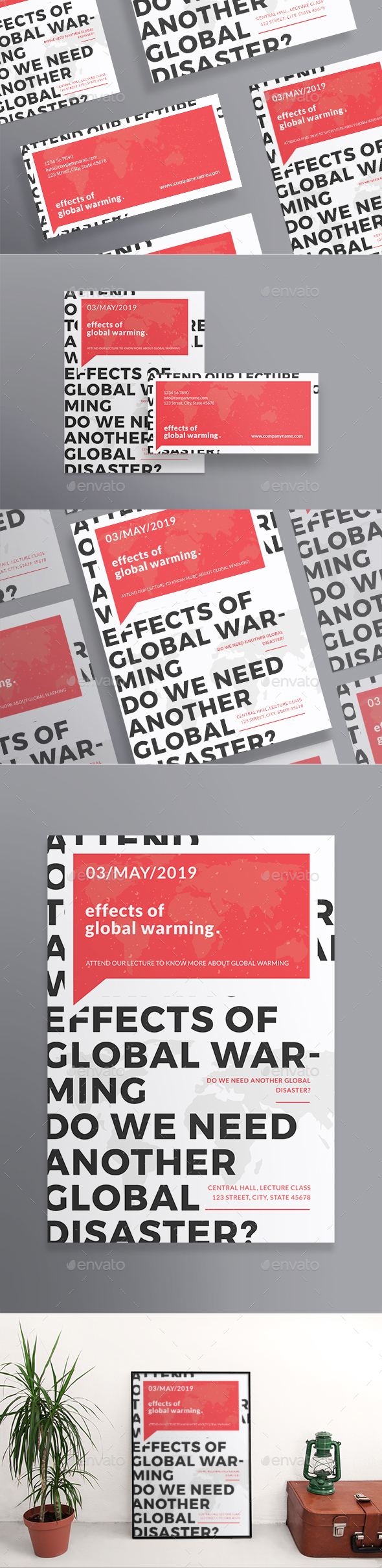 Global Warming Flyers - Miscellaneous Events