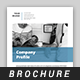 Square Company Profile Brochure Template