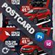 Rent A Car Postcard Templates