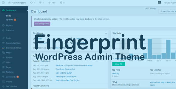 Download Source code              Fingerprint - WordPress Admin Theme            nulled nulled version