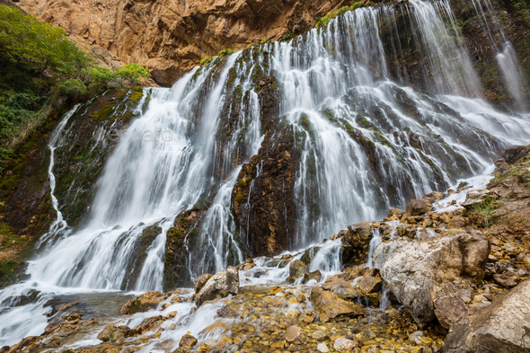 Waterfall in Turkey - Stock Photo - Images