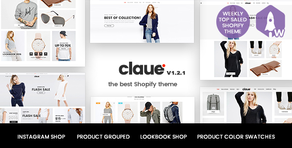 Image of Claue - Clean, Minimal Shopify Theme