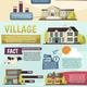 Big City Infographics Orthogonal Layout