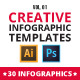 Creative infographic pack v.01