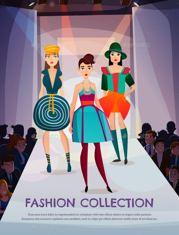 GraphicRiver Fashion Collection Illustration 20846550