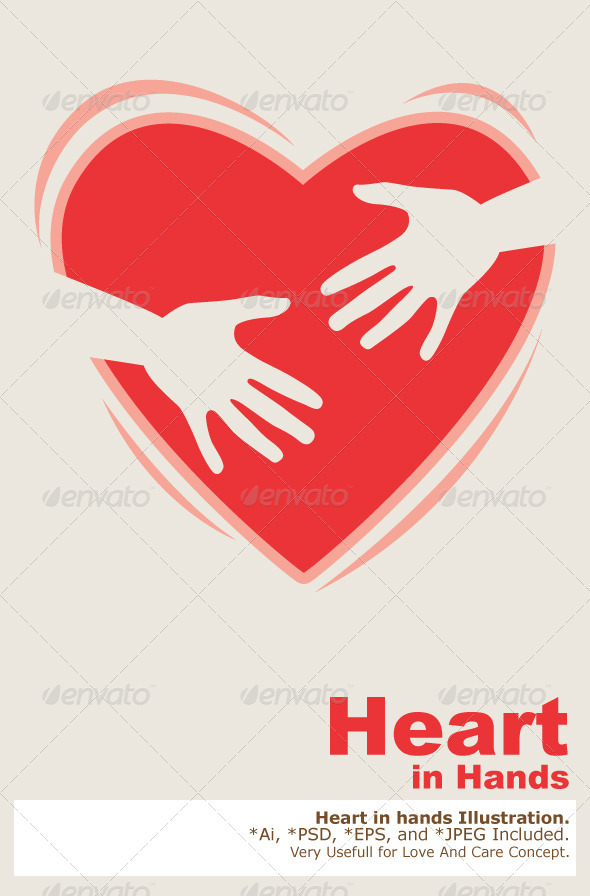 Heart In Hands  - Health/Medicine Conceptual
