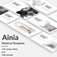 Ainia Creative Google Slide Template - GraphicRiver Item for Sale