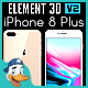 Apple iPhone 8 Plus for Element 3D - 3DOcean Item for Sale