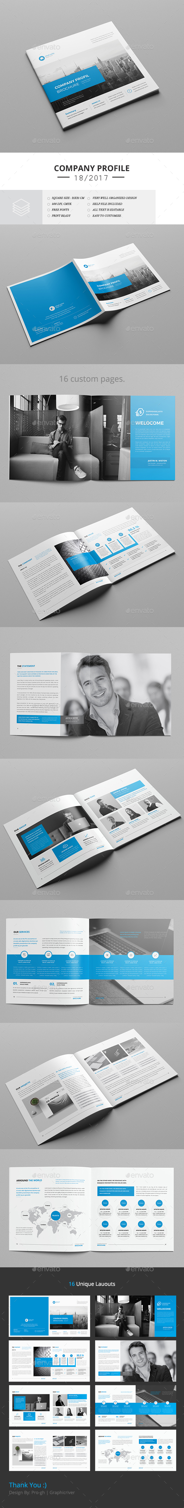 Square Company Brochure - Corporate Brochures