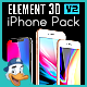 Apple iPhones Pack for Element 3D