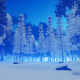 Snowy Forest in Winter - VideoHive Item for Sale
