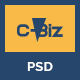 C-Biz: Corporate PSD template - ThemeForest Item for Sale