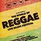 Reggae Flyer/Poster