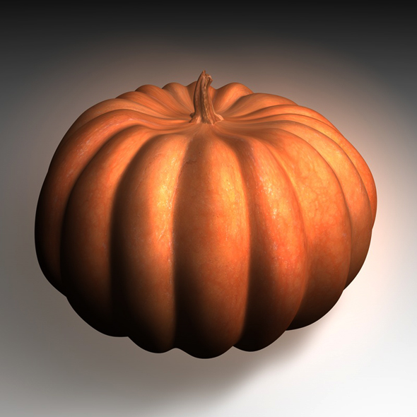 Real pumpkin - 3DOcean Item for Sale