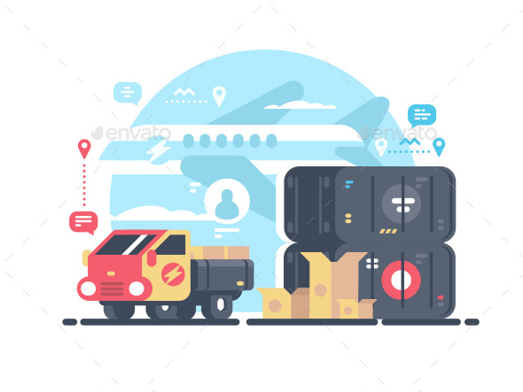 GraphicRiver Transportation and Logistics 20847961