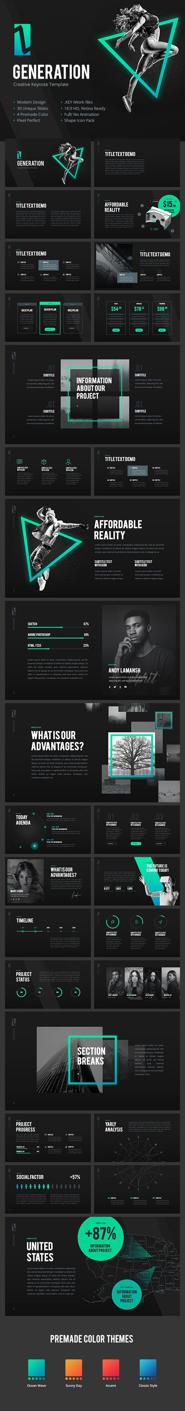 GraphicRiver Z Generation Creative Keynote Template 20848110