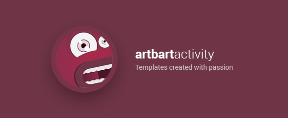 Artbart themeforest profile