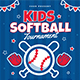 Kids Softball Tournament Flyer - GraphicRiver Item for Sale