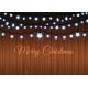 Glowing Garland Set on Wood Background - GraphicRiver Item for Sale