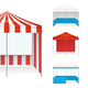 Tent Examples Realistic Set