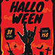 Halloween Rock Flyer