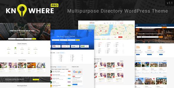 Image of Knowhere Pro - Multipurpose Directory WordPress Theme