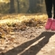 Girl's Legs Jumping in Autumn Forest - VideoHive Item for Sale