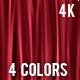 Curtain Screens - 4 colors 4K