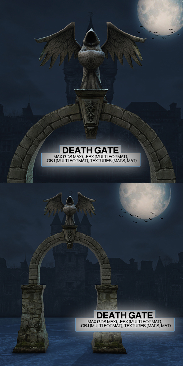 Death Gate - 3DOcean Item for Sale
