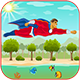 Super Hero Adventure- Admob Banner & Interstitial- Eclipse project