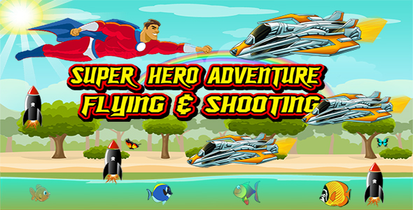 CodeCanyon Super Hero Adventure- Admob Banner & Interstitial- Eclipse project 20849014